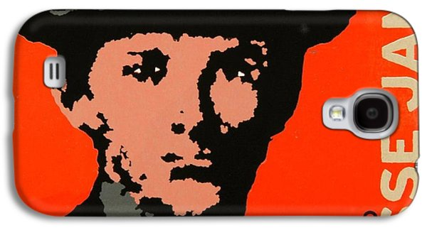 Lino Paintings Galaxy S4 Cases - Wanted Galaxy S4 Case by David Honaker