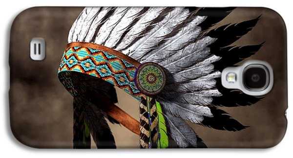 Hopi Galaxy S4 Cases - War Bonnet Galaxy S4 Case by Daniel Eskridge