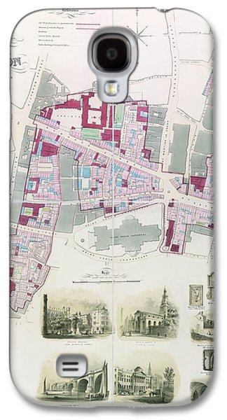 Ward Of Farringdon Galaxy S4 Case by British Library