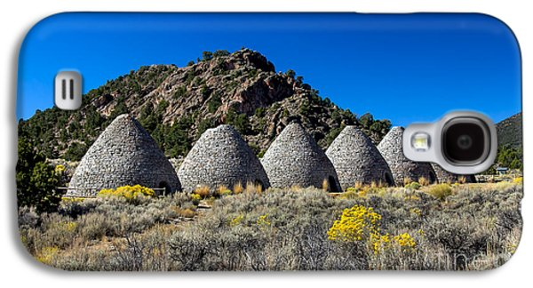 Haybale Galaxy S4 Cases - Wards Charcoal Ovens Galaxy S4 Case by Robert Bales