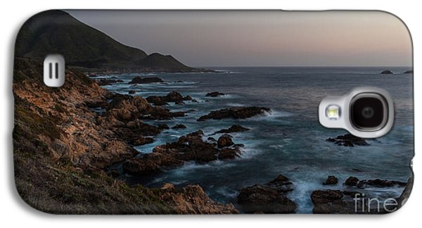 Big Sur Beach Galaxy S4 Cases - Warm California Evening Galaxy S4 Case by Mike Reid