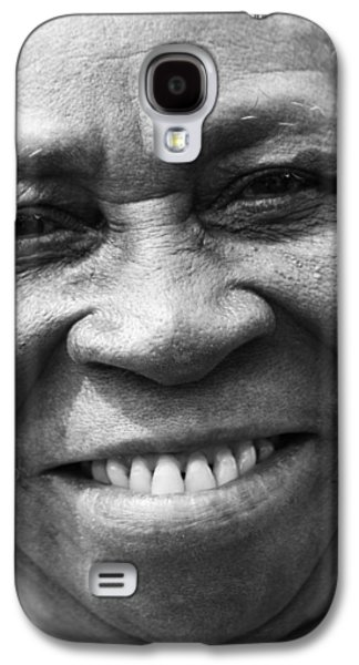 African Heritage Galaxy S4 Cases - Warm Smile B Galaxy S4 Case by Jerry Cordeiro