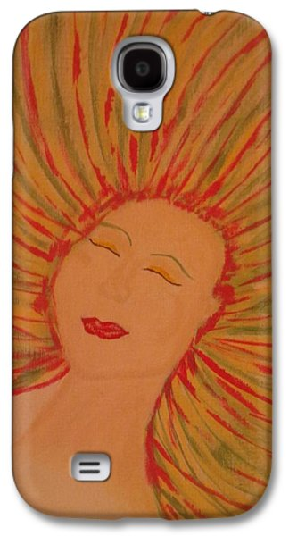 Inner Self Galaxy S4 Cases - Warm Thoughts Galaxy S4 Case by Erica  Darknell