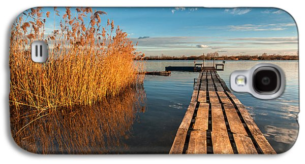 Landscapes Photographs Galaxy S4 Cases - Warm winter afternoon Galaxy S4 Case by Davorin Mance