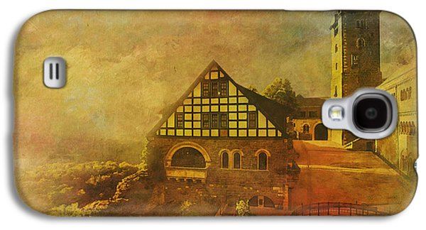 Berlin Germany Paintings Galaxy S4 Cases - Wartburg Castle Galaxy S4 Case by Catf
