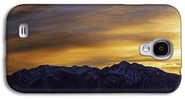 Light Galaxy S4 Cases - Wasatch Dawn Galaxy S4 Case by Chad Dutson