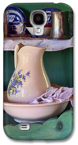 Old Pitcher Galaxy S4 Cases - Wash Basin Still Life Galaxy S4 Case by Nikolyn McDonald