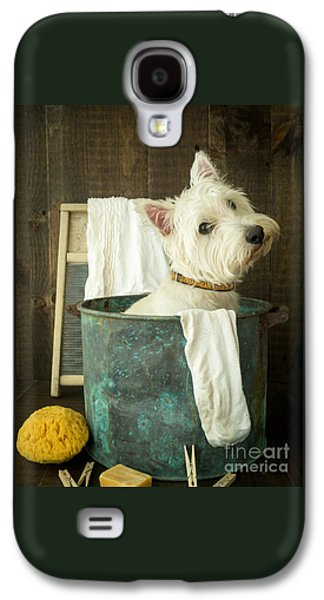 Small Photographs Galaxy S4 Cases - Wash Day Galaxy S4 Case by Edward Fielding