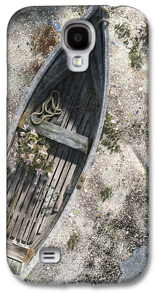 Shore Digital Art Galaxy S4 Cases - Washed Ashore Galaxy S4 Case by Cynthia Decker
