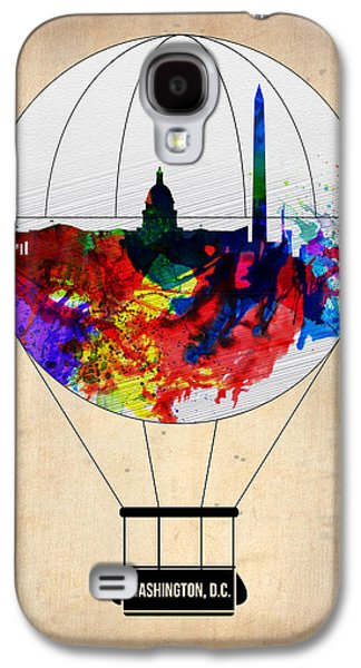Washington D.c. Air Balloon Galaxy S4 Case by Naxart Studio