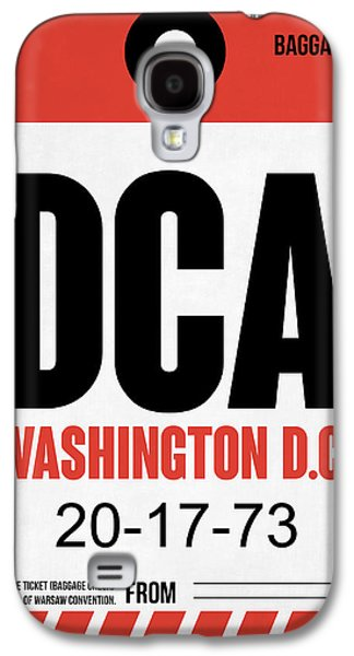 Washington D.c. Airport Poster 1 Galaxy S4 Case by Naxart Studio