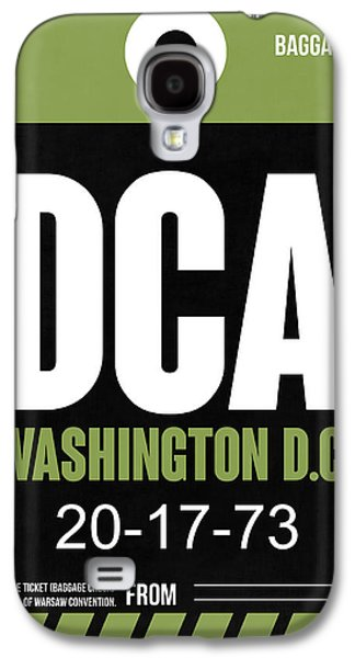 Washington D.c. Airport Poster 2 Galaxy S4 Case by Naxart Studio