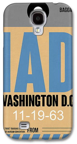 Washington D.c. Airport Poster 3 Galaxy S4 Case by Naxart Studio