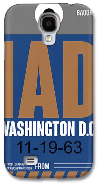 Washington D.c. Airport Poster 4 Galaxy S4 Case by Naxart Studio