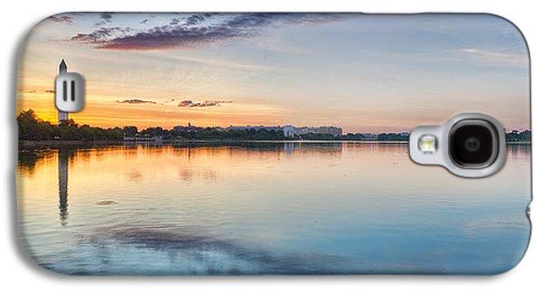Washington Dc Panorama Galaxy S4 Case by Sebastian Musial