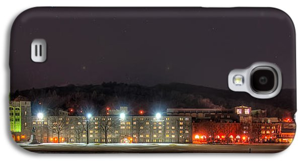 United Photographs Galaxy S4 Cases - Washington Hall at Night Galaxy S4 Case by Dan McManus