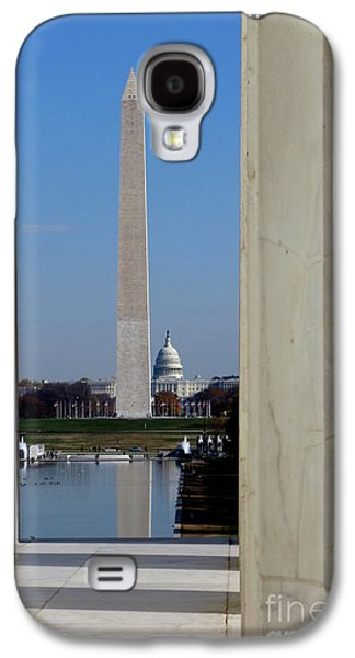 Washington Landmarks Galaxy S4 Case by Olivier Le Queinec