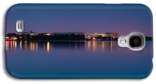 Landmarks Photographs Galaxy S4 Cases - Washington Skyline Galaxy S4 Case by Sebastian Musial