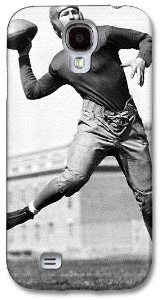 Washington State Quarterback Galaxy S4 Case by Underwood Archives