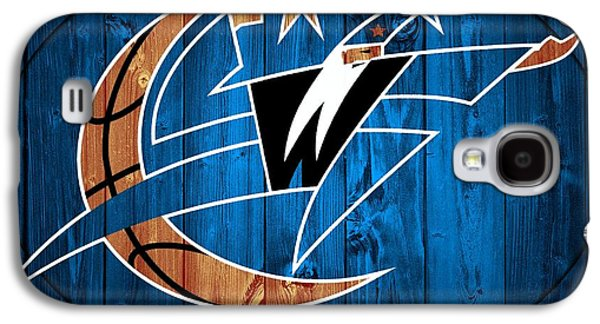 Washington Wizards Barn Door Galaxy S4 Case by Dan Sproul