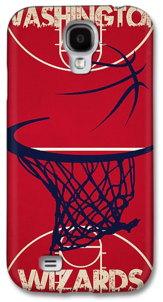 Wizard Photographs Galaxy S4 Cases - Washington Wizards Court Galaxy S4 Case by Joe Hamilton