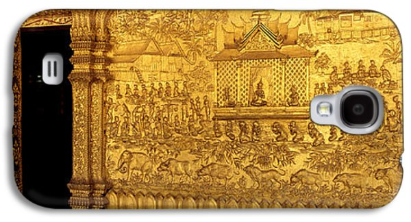 Interior Scene Photographs Galaxy S4 Cases - Wat Mai Luang Prabang Laos Galaxy S4 Case by Panoramic Images