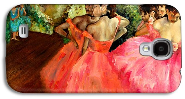 Behind The Scenes Paintings Galaxy S4 Cases - Watching Degas Galaxy S4 Case by Graham Keith