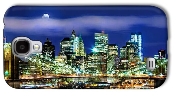 Watching Over New York Galaxy S4 Case by Az Jackson