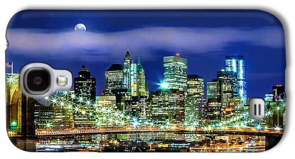 Trade Galaxy S4 Cases - Watching Over New York Galaxy S4 Case by Az Jackson