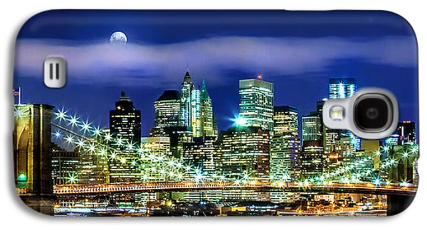 Midtown Galaxy S4 Cases - Watching Over New York Galaxy S4 Case by Az Jackson