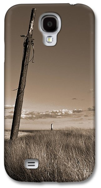 Masts Galaxy S4 Cases - Watching Over the Sea King Galaxy S4 Case by Mark Miller