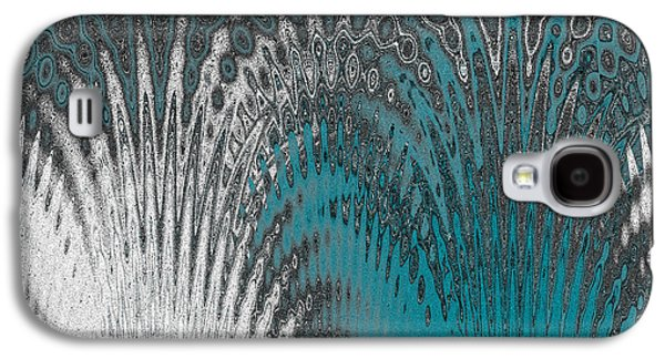 Ben Gertsberg Digital Art Galaxy S4 Cases - Water And Ice - Blue Splash Galaxy S4 Case by Ben and Raisa Gertsberg