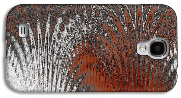 Water And Ice - Red Splash Galaxy S4 Case by Ben and Raisa Gertsberg