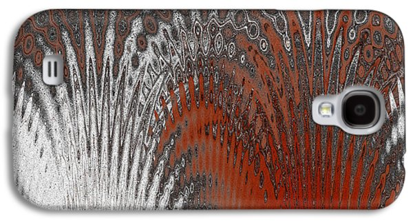 Ben Gertsberg Digital Art Galaxy S4 Cases - Water And Ice - Red Splash Galaxy S4 Case by Ben and Raisa Gertsberg