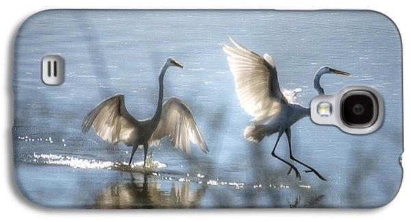 Water Ballet  Galaxy S4 Case by Saija  Lehtonen