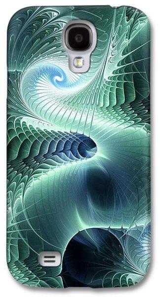 Digital Galaxy S4 Cases - Water Dragon Galaxy S4 Case by Anastasiya Malakhova