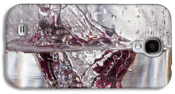 Nature Abstract Galaxy S4 Cases - Water Drops Abstract  Galaxy S4 Case by Stylianos Kleanthous