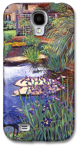 Gardenscapes Galaxy S4 Cases - Water Garden Galaxy S4 Case by David Lloyd Glover