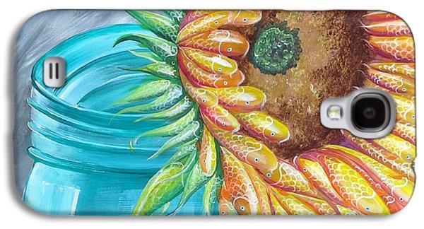 Water Jars Paintings Galaxy S4 Cases - Water of Life Galaxy S4 Case by Deda Happel