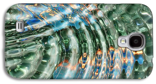 Reflections In Water Galaxy S4 Cases - Water Ripples Galaxy S4 Case by Cheryl Young
