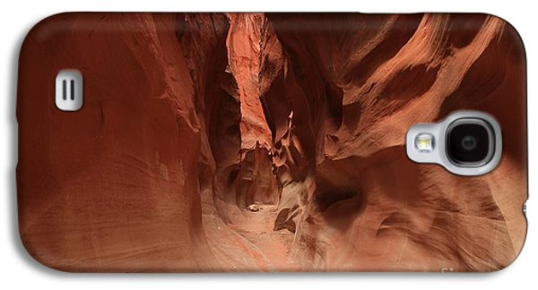 Holes In Sandstone Galaxy S4 Cases - Water Sculpted Curves Galaxy S4 Case by Adam Jewell