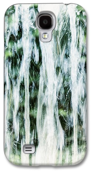 Abstract Fountain Galaxy S4 Cases - Water Spray Galaxy S4 Case by Margie Hurwich