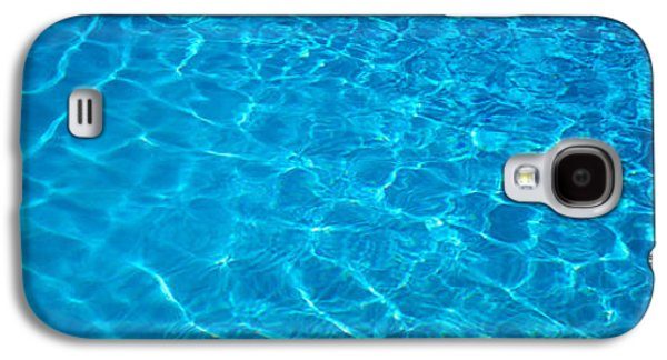 Abstract Movement Photographs Galaxy S4 Cases - Water Swimming Pool Mexico Galaxy S4 Case by Panoramic Images