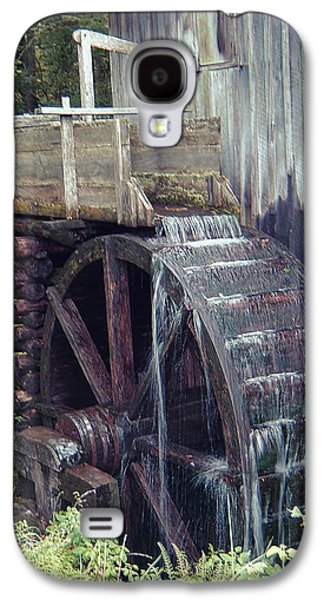 Mechanism Galaxy S4 Cases - Water Wheel Galaxy S4 Case by Phyllis Taylor