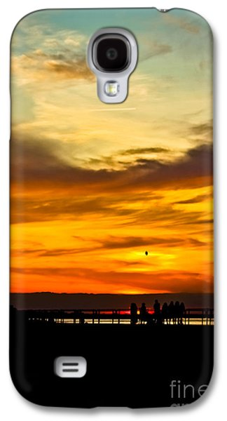 Original Art Photographs Galaxy S4 Cases - Watercolor Sky Galaxy S4 Case by Colleen Kammerer