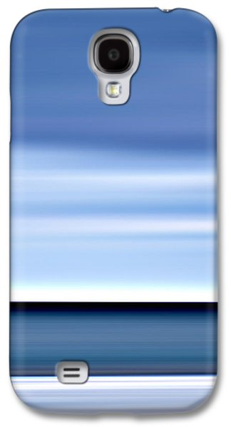 Seascape Digital Galaxy S4 Cases - Watercolor Galaxy S4 Case by Steffi Louis