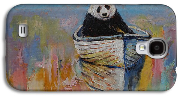 Rowboat Galaxy S4 Cases - Watercolors Galaxy S4 Case by Michael Creese
