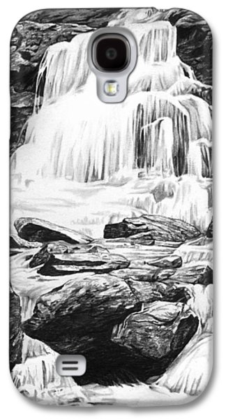 Drawing Galaxy S4 Cases - Waterfall Galaxy S4 Case by Aaron Spong