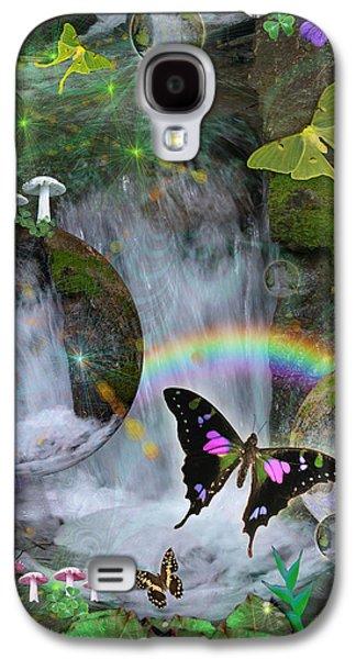 Alixandra Mullins Galaxy S4 Cases - Waterfall Daydream Galaxy S4 Case by Alixandra Mullins