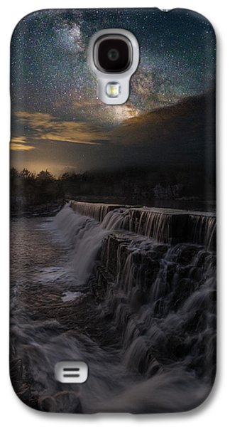 Dreamscape Galaxy S4 Cases - Waterfall Dreamscape Galaxy S4 Case by Aaron J Groen